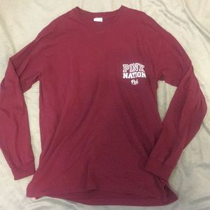 Tops - Victoria's Secret PINK long sleeve